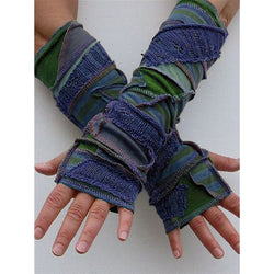 Autumn And Winter Woven Long Gloves