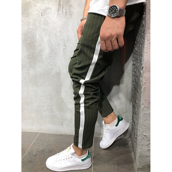 Men's Casual Striped Pants