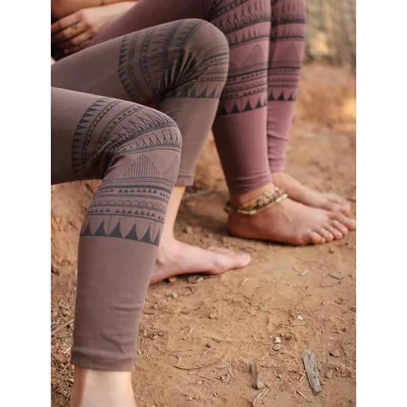 Women's Printed Geometric Casual Pants