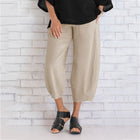 Women Cotton Blend Pants Spring Summer Casual Pants