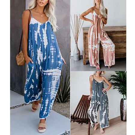 New Sling Printed Jumpsuit