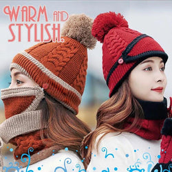 3-in-1 Women Practical Winter Mask