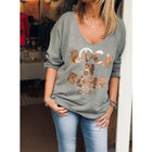 Autumn Women's Printed Long Sleeve T-Shirt