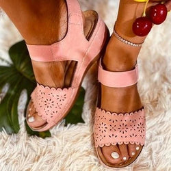 2020 New Fashion Women's Vintage Flat Sandals