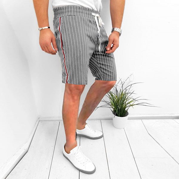 Fashion Business Stripe Comfortable Shorts