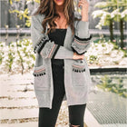 Casual Long Sleeve Boho Knitting Sweater Cardigan