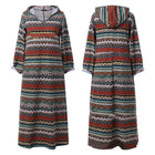 Casual Women's Printed Long Sleeve Fall Dresses
