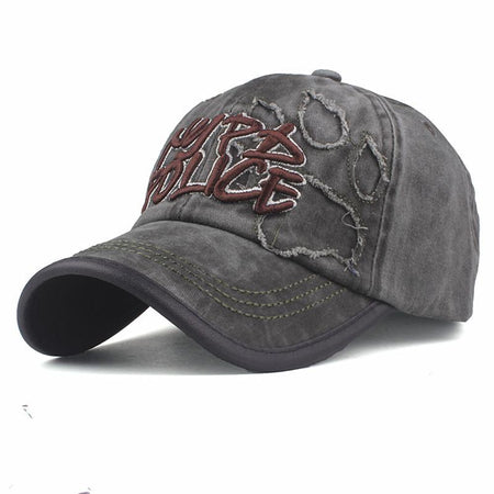Fashion Adjustable Letter Embroidery Sunshade Baseball Cap