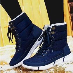 Women's Waterproof Fur-lined Snow Boots