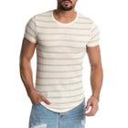Casual Stripe Short Sleeve T-Shirts
