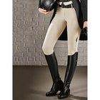 Women's Solid Color Stretch Riding Pants