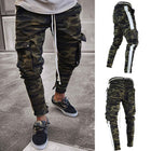 Casual Camouflage Elastic Band Pants