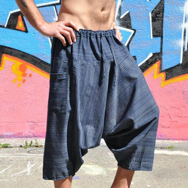 Casual Loose Elastic Waist Pants