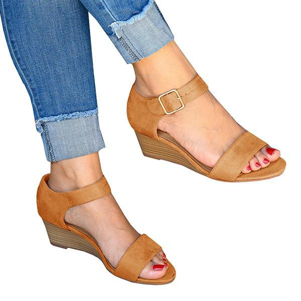 Wedge Casual Simple Sandals