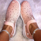 Women's Shiny Sock Sneakers