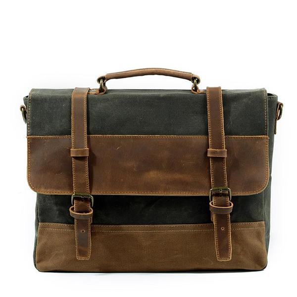 Men Business  Leather Crossbody Bag