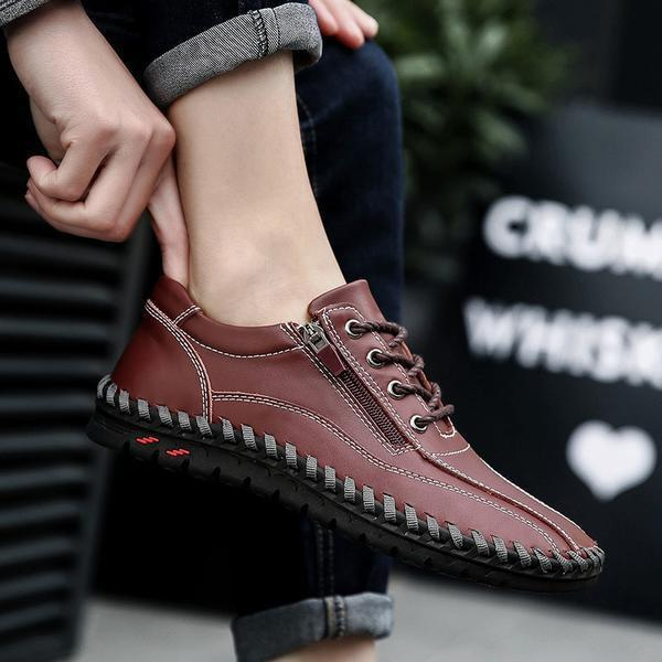 Casual Breathable Flat Men's Shoes