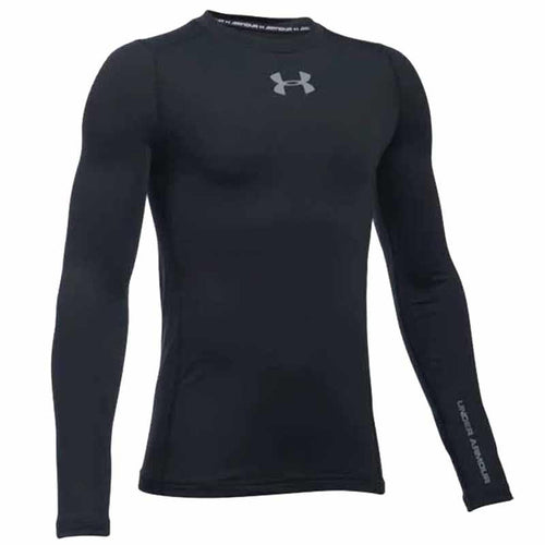Under Armour ColdGear Crew Compression Shirt (Youth) | Macey's Sports