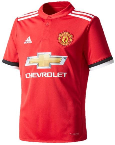Adidas Manchester United Replica Jersey (Youth) 17/18 | Macey's Sports