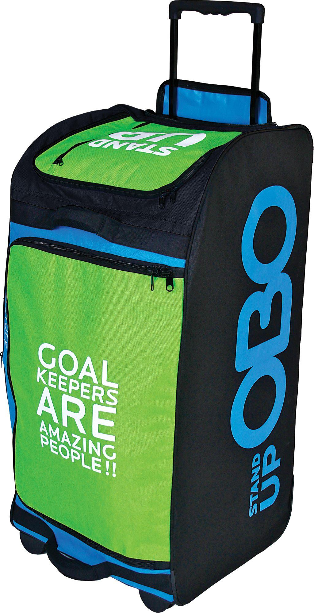 OBO Goalie Stand Up Deluxe Wheelie Bag | Macey's Sports