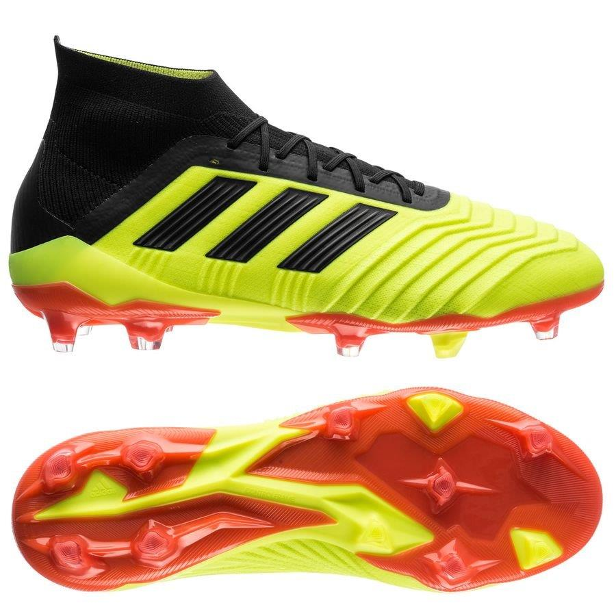 Adidas Predator 18.1 FG Adult Soccer Shoe | Macey's Sports