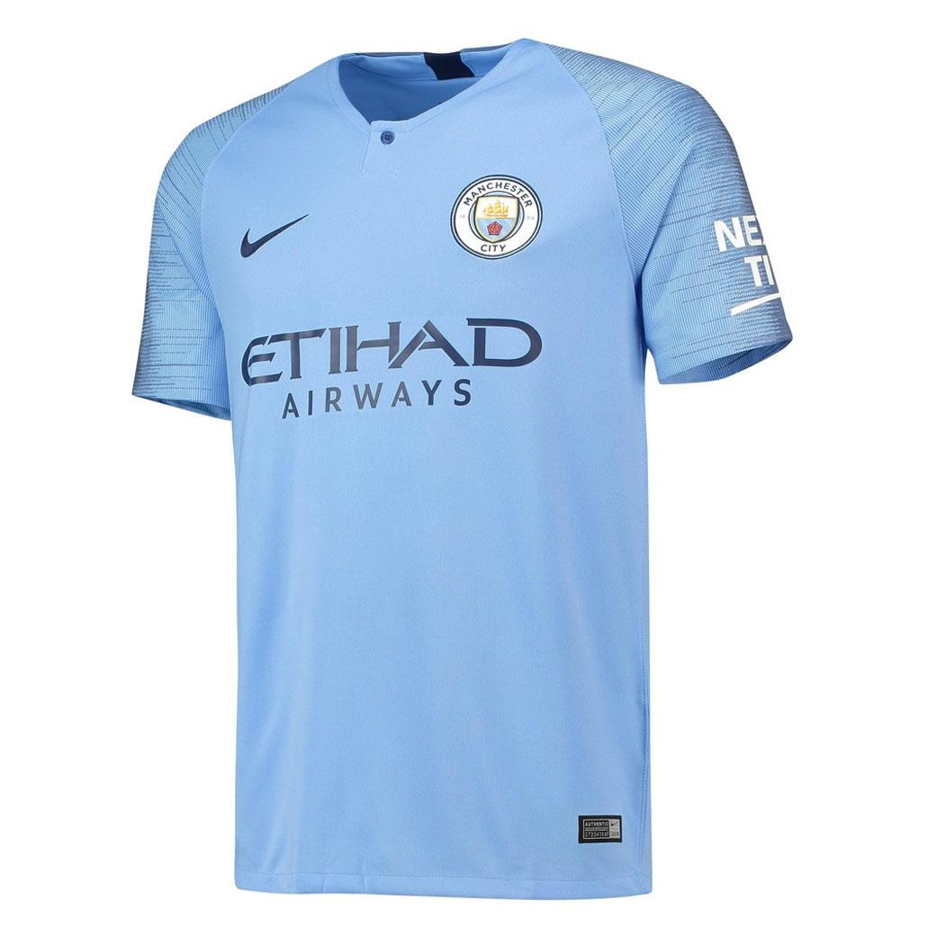 Nike Manchester City Home Jersey 18/19 | Macey's Sports