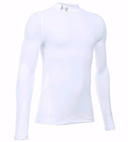 Under Armour ColdGear Mock Compression Shirt (Youth) | Macey's Sports