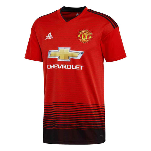 Adidas Manchester United Home Jersey (Youth) 18/19 | Macey's Sports