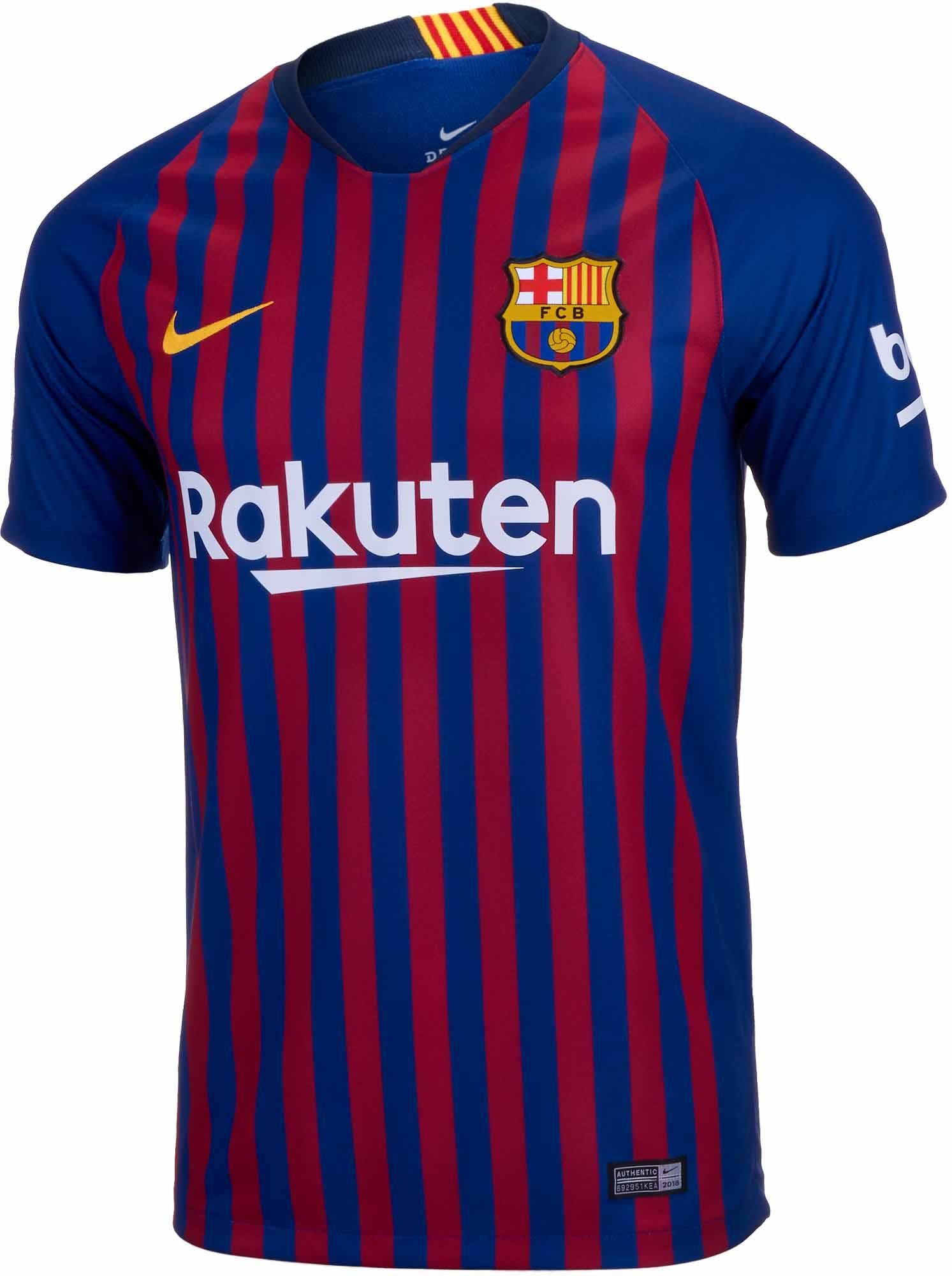 898cef6ea96 Nike FC Barcelona Home Jersey (Youth) 18/19 | Macey's Sports