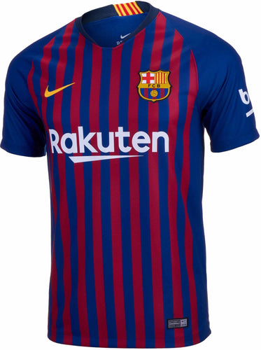 Nike FC Barcelona Home Jersey (Youth) 18/19 | Macey's Sports