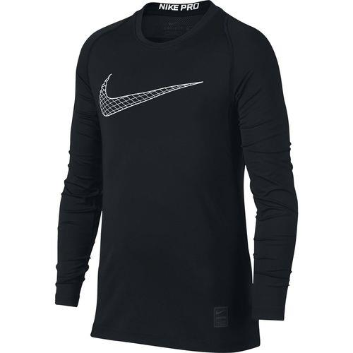 Nike Pro Fitted Compression Shirt (Youth) | Macey's Sports