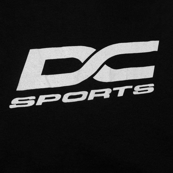 Black DC Sports  Grey Logo T-Shirt