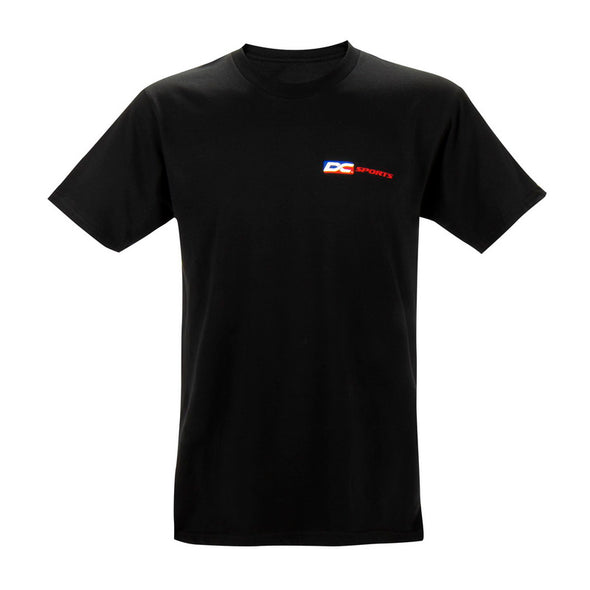 Black DC Colored Logo T-Shirt