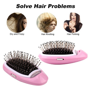 Ionic Portable Electric Hairbrush