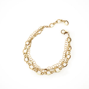 Multi Gold Fill Bracelet