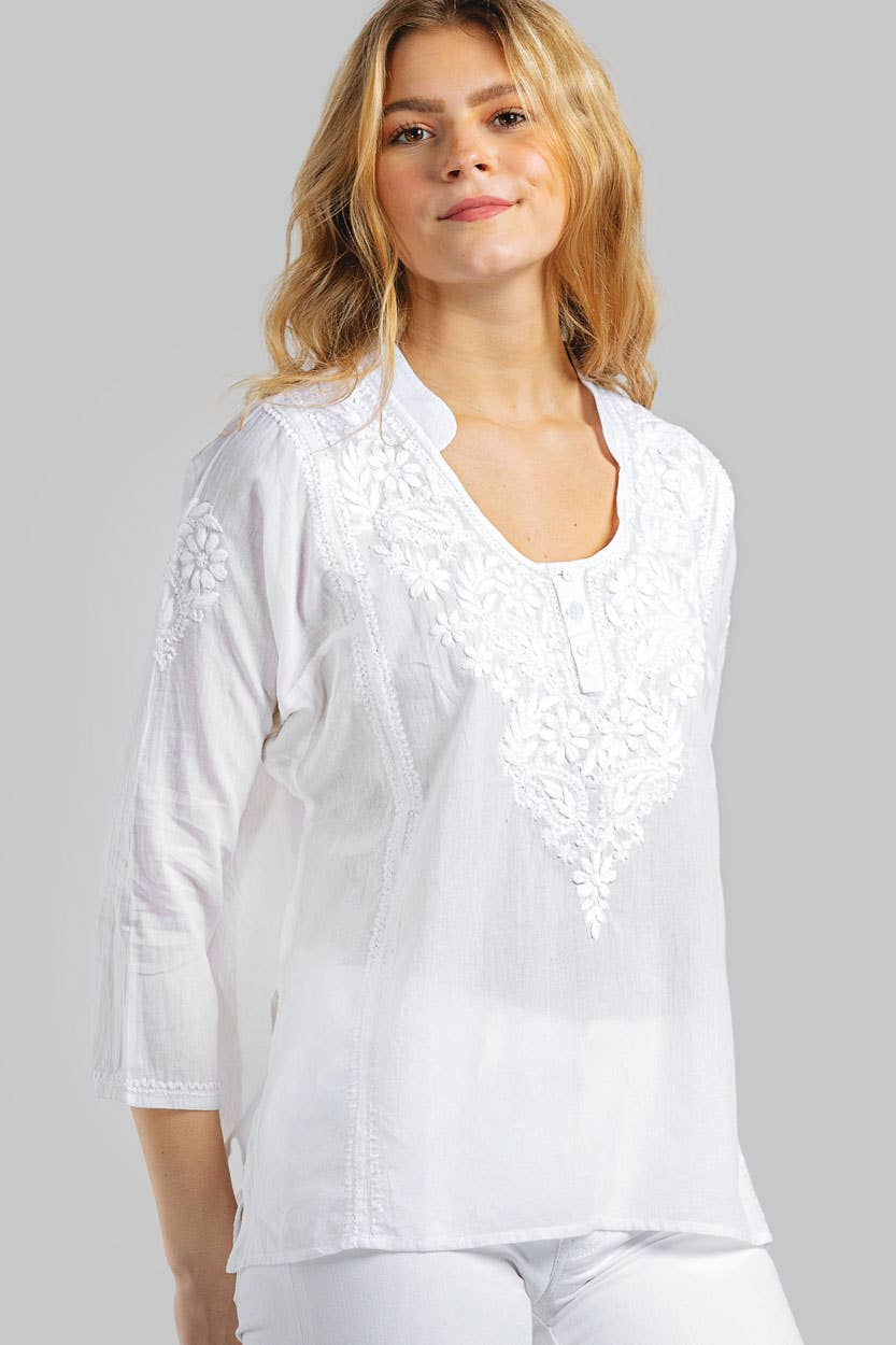 Naisha Embroidered Top