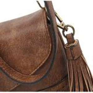 The Audry Crossbody - Brown