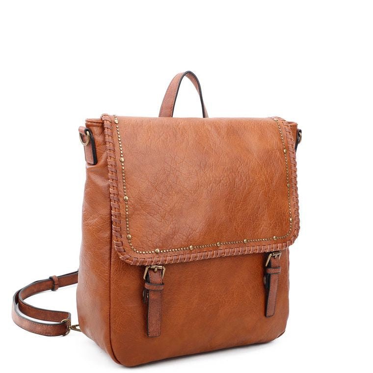 Carolina Backpack - Cognac