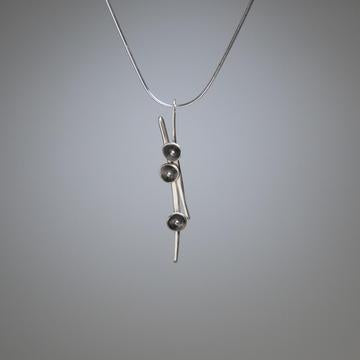 Teacup sterling silver Necklace