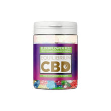 Load image into Gallery viewer, Equilibrium CBD 250mg CBD Vegan Gummy Bears - Elderflower Fizz