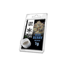 Load image into Gallery viewer, CBD Hash 1g Blue Berry 10%