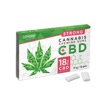 Load image into Gallery viewer, Euphoria 18MG CBD Strong Cannabis Chewing Gums