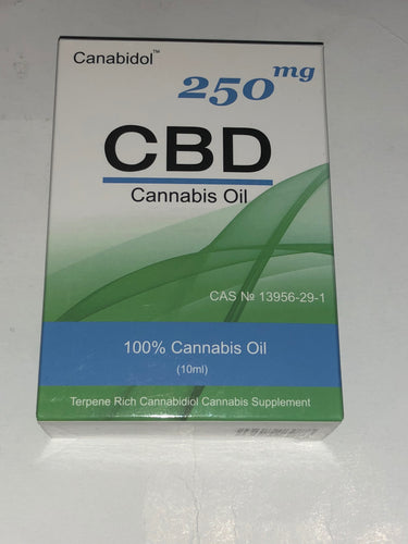 CBD Cannabis Oil - 250MG & 500MG - 10ml
