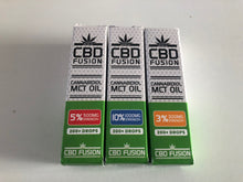 Load image into Gallery viewer, CBD MCT OIL 10ml - 300MG, 500MG & 1000MG