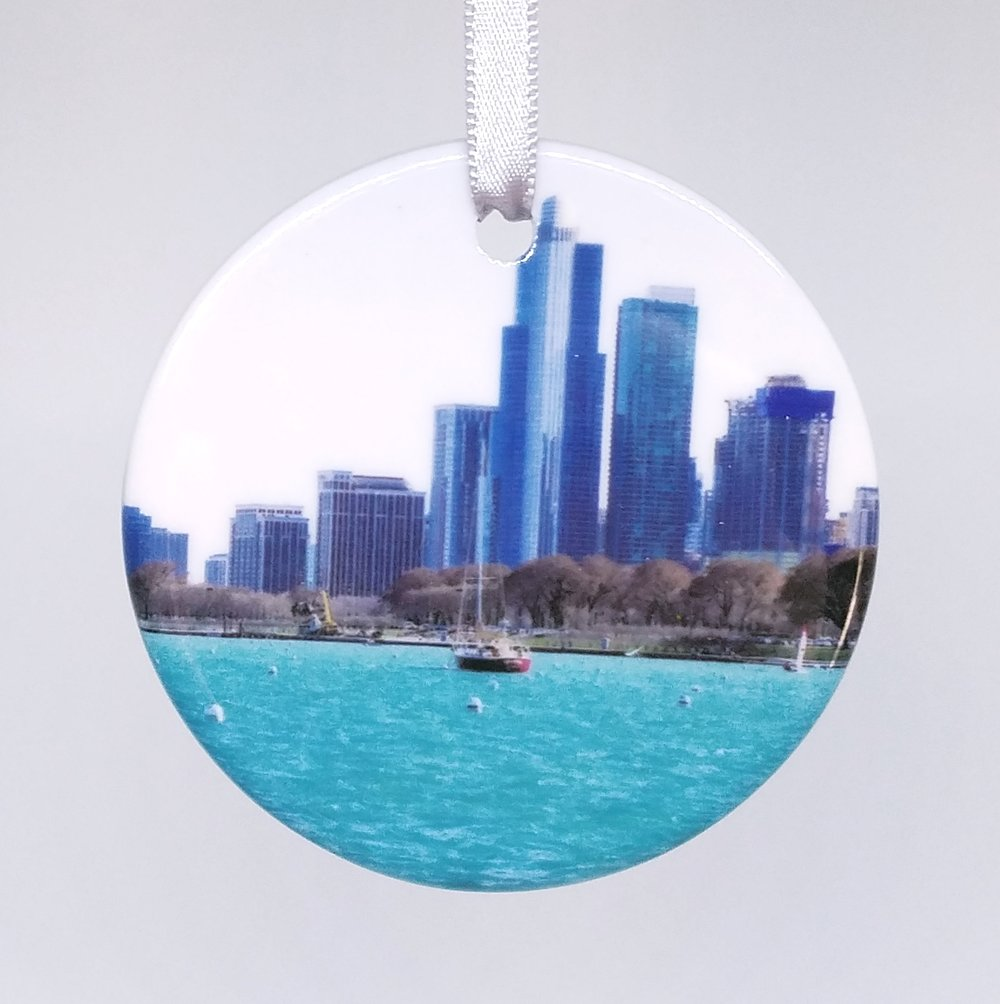 Ornament - CHI Skyline