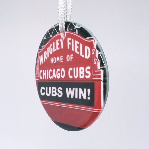 Ornament - Chicago - Wrigley Sign