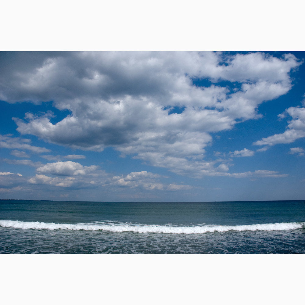 Metal Print - Clouds & Wave