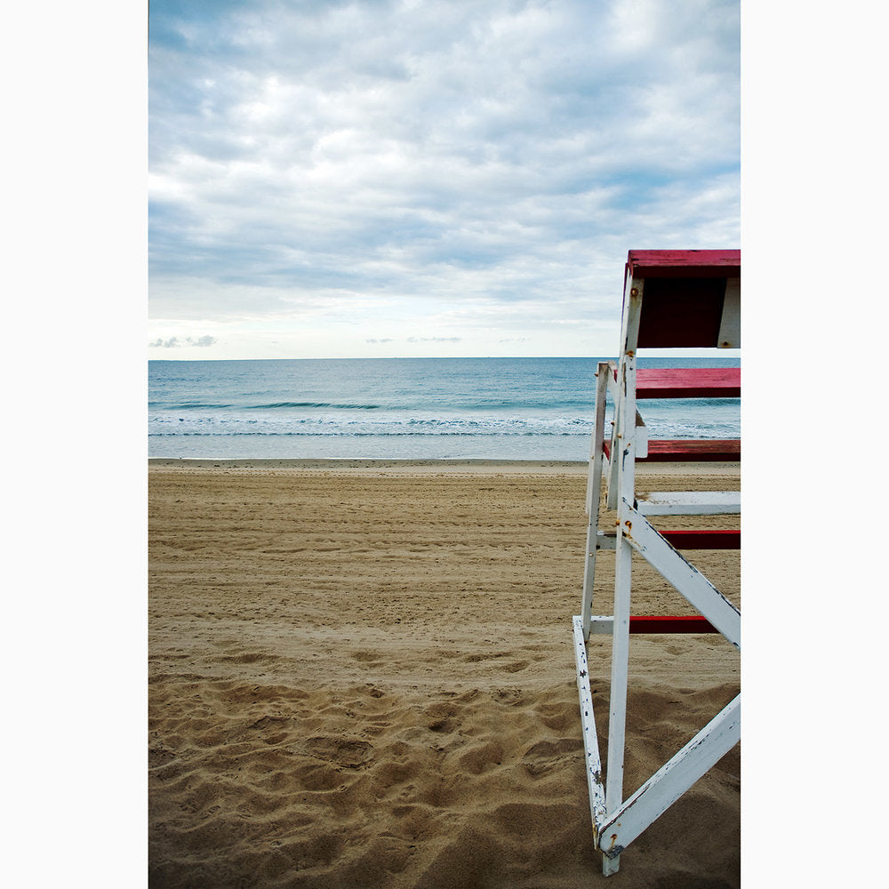Metal Print - Quiet Beach