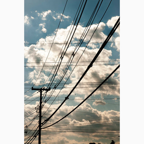 Metal Print - Cloud Lines