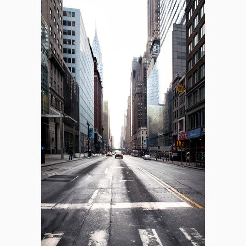Metal Print - NYC 42nd Street